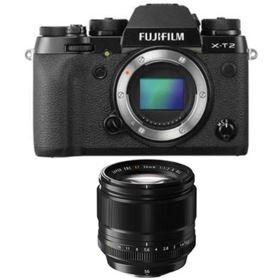 Fujifilm X-T2 Digital Camera with 56mm f1.2 R XF Fujinon Lens