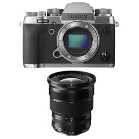 Fujifilm X-T2 Digital Camera - Graphite with 10-24mm f4 R OIS XF Fujinon Lens