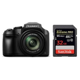 Panasonic Lumix DMC-FZ82 with SanDisk 32GB 95MB/Sec SDHC Card