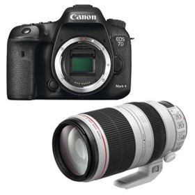 Canon EOS 7D Mark II with EF 100-400mm L IS II Lens