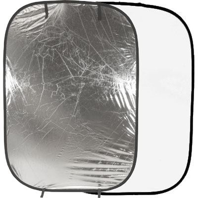 Image of Lastolite Collapsible Panelite Reflector 1.2 x 1.8m - Silver / White