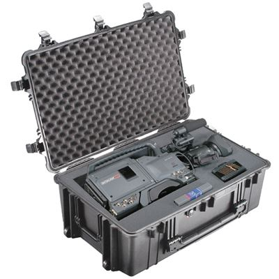 Peli 1650 Case with Foam - Black