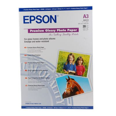 Epson Premium Gloss A3 20 sheets