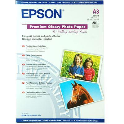 Epson Premium Glossy A3+ 20 sheets