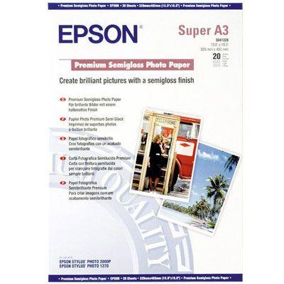 Epson Premium SemiGloss A3+ 20 sheets