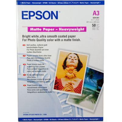 Epson Matt Paper Heavyweight A3 50 sheets