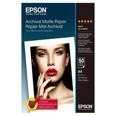 Epson Archival Matte A4 - 50 sheets