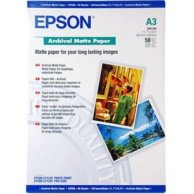 Epson Archive Matt A3 50 sheets