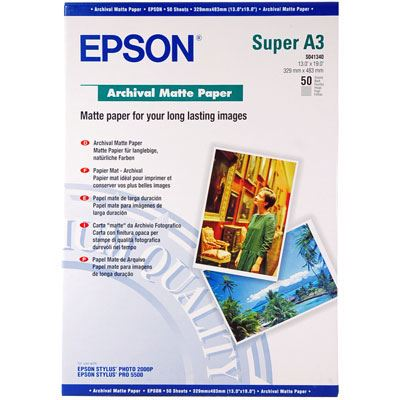 Epson Archival Matt A3+ 50 sheets