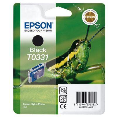 EPSON T0331 black ink cartridge