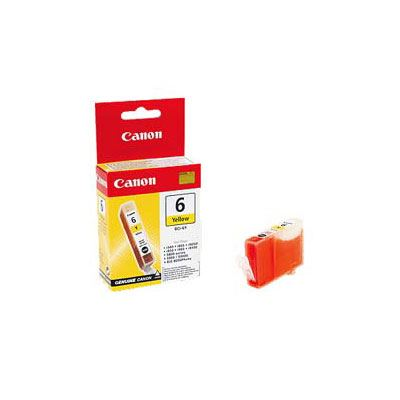 Image of Canon BCI6Y Yellow Ink Cartridge