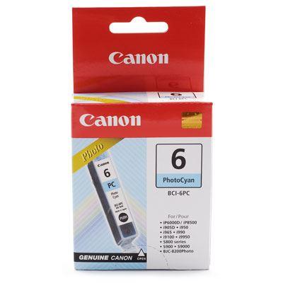 Image of Canon BCI6PC Photo Cyan Ink Cartridge
