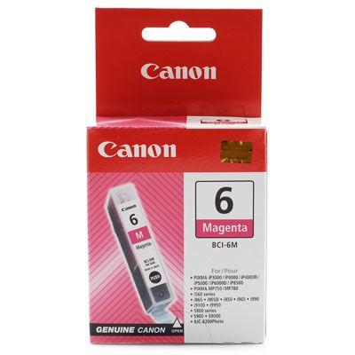 Image of Canon BCI6M Magenta Ink Cartridge