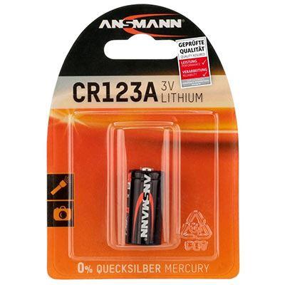 Ansmann CR123A Lithium 3V Battery