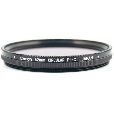 Canon 52mm Circular Polarising Filter