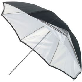 Bowens 115cm Umbrella - Silver/White