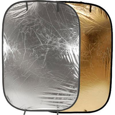 Image of Lastolite Collapsible Panelite Reflector 1.2 x 1.8m - Sunfire / Silver