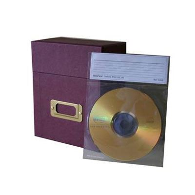 Secol CD/DVD Indexed Pockets