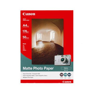 Canon MP101 Matt Photo Paper A4 50 sheets