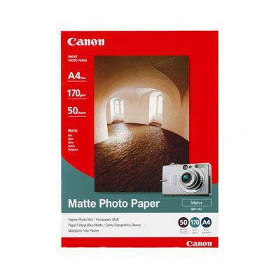 Canon MP101 Matt Photo Paper A4 50 sheets