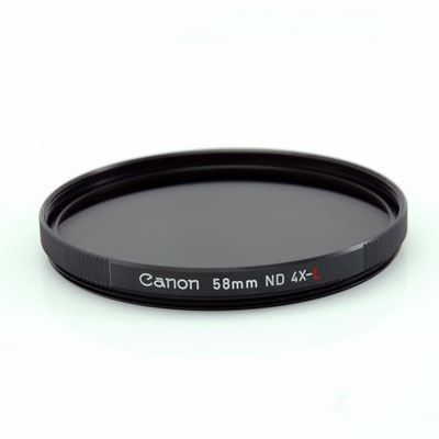 Canon 58mm ND4L Neutral Density 4 Filter