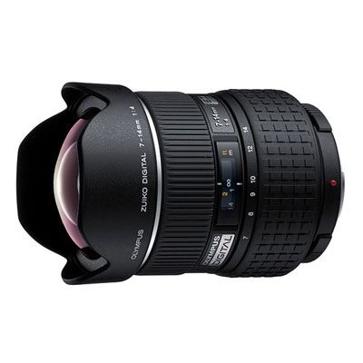 Olympus 7-14mm f4 ZUIKO Digital ED Four Thirds lens