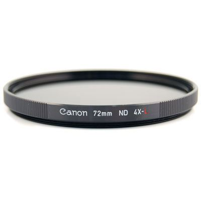 Canon 72mm ND4L Neutral Density x4 Filter