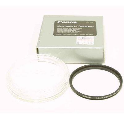 Canon 58mm Gelatin Filter Holder