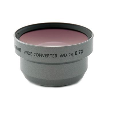 Image of Canon WD28 Wide Angle Converter