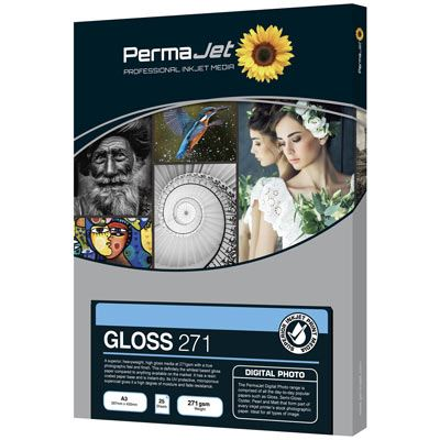 Permajet Instant Dry Gloss A3 50 sheets