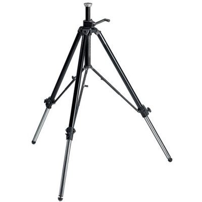 Manfrotto 117B Video Tripod - Black