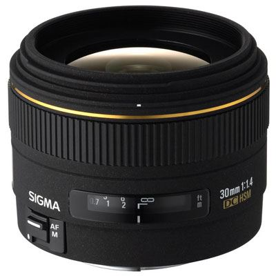 Sigma 30mm f1.4 EX DC HSM Lens - Canon Fit
