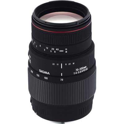 Sigma 70300mm f45.6 APO Macro Super DG Lens  Canon Fit
