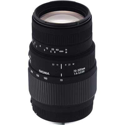 Sigma 70-300mm f4-5.6 Macro DG Lens - Nikon Fit