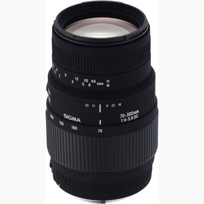 Sigma 70300mm f45.6 Macro DG Lens  Canon Fit