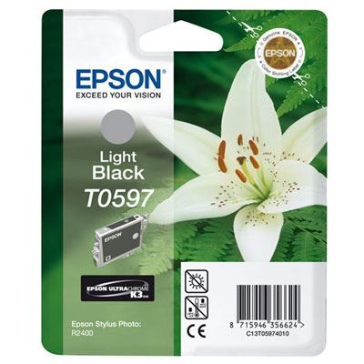 Epson T0597 Light Black K3 Ink Cartridge
