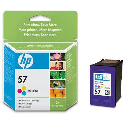 HP 57 CMY TriColour Inkjet Cartridge