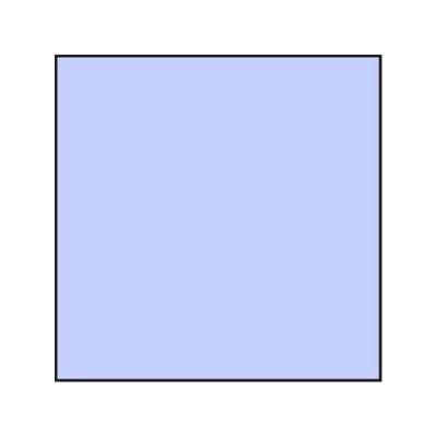 Lee Blue 25 Resin Colour Correction Filter