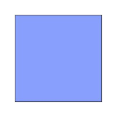 Lee Blue 40 Polyester Colour Correction Filter