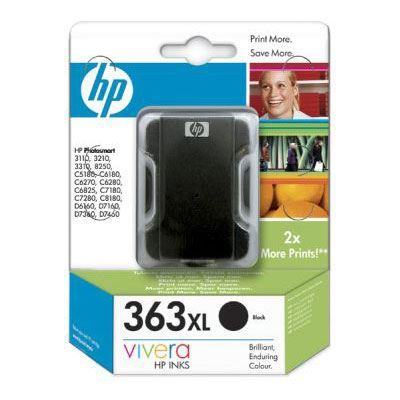 HP 363 Large Black Ink Cartridge