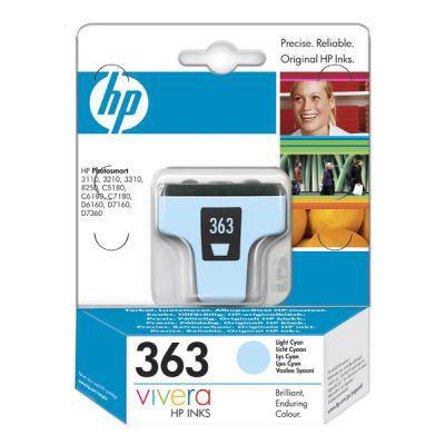HP 363 Light Cyan Ink Cartridge