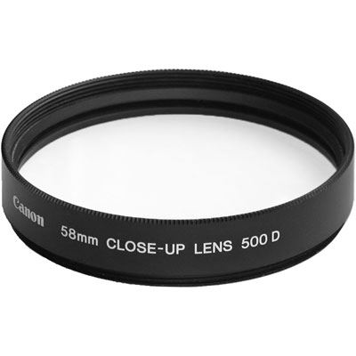 Image of Canon 58mm Close Up Lens Type 500D