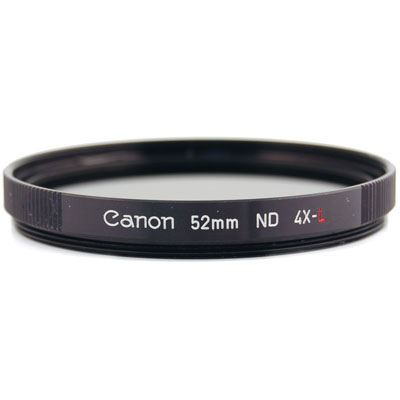 Canon 52mm ND4L Neutral density 4 Filter
