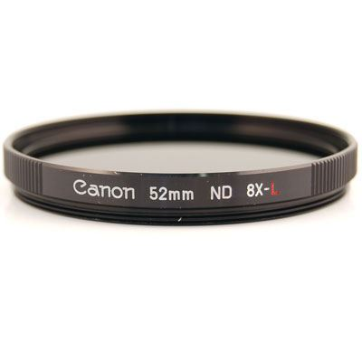 Canon 52mm ND8L Neutral Density 8 Filter