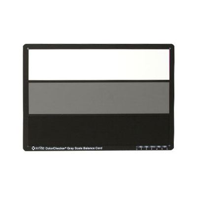 X-Rite Colour Checker Grey Scale Chart