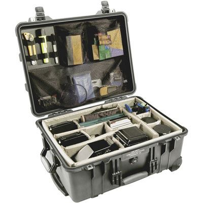 Used Peli 1560 Case with Dividers