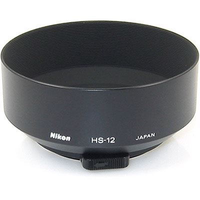 Image of Nikon HS-12 52mm Snap-on Lens Hood for 50/1.2
