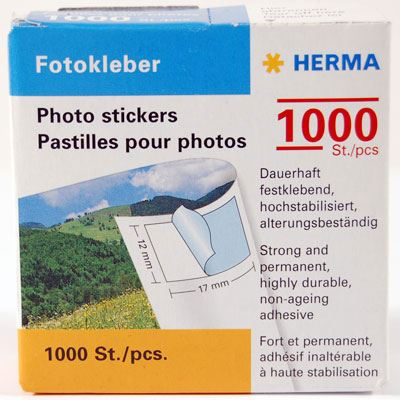 Image of Herma Photo Stickers, pack of 1000