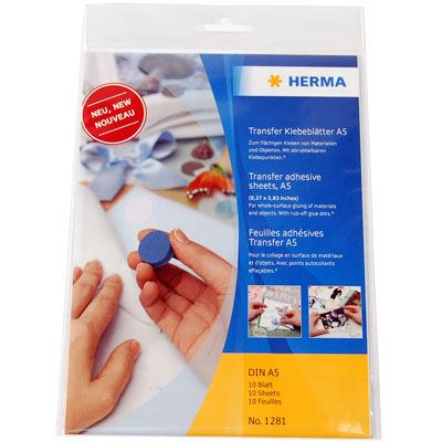 Herma Removable Glue Sheet A5 (10)