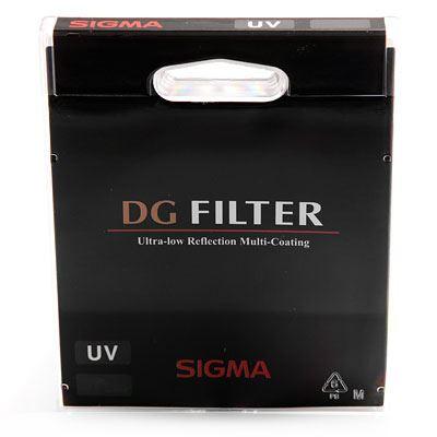 Sigma 62mm EX DG UV Filter